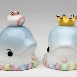 ATD - 2.25 Inch Queen and King Dolphin Design Salt and Pepper Shaker Set - This gorgeous 2.25 Inch Queen and King Dolphin Design Salt and Pepper Shaker Set has the finest details and highest quality you will find anywhere! 2.25 Inch Queen and King Dolphin Design Salt and Pepper Shaker Set is truly remarkable.