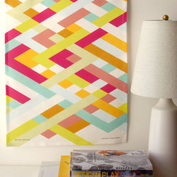 Latticework Tea Towel by Avril Loreti - Avril Loreti is one of my favorite textile designers, and I think this new Latticework tea towel is absolutely stunning. It's so gorgeous that I'd probably hang it on a wall instead of using it to dry dishes.