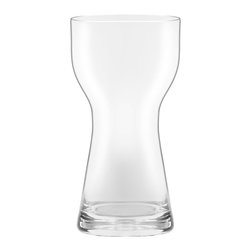 Oxford Porcelains - Karim Rashid - Crystal Cup Water 295ml - Your plain water will get quite the striking makeover, after it's poured into this stunning glass. Graceful lines curve in ever so slightly and then back out again, to create an elegant, feminine-inspired silhouette.