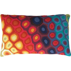 eclectic outdoor pillows by CB2