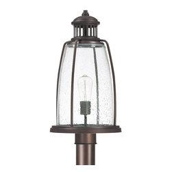 Capital Lighting - Capital Lighting Harbour Transitional Outdoor Post Lantern Light X-BO5369 - Capital Lighting Harbour Transitional Outdoor Post Lantern Light X-BO5369