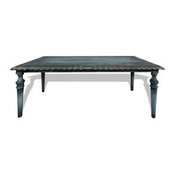 Coffee & Dining Tables - You can visit www.KoenigCollection.com to see more intricate hand painted and hand crafted eco-friendly furniture pieces and accessories!