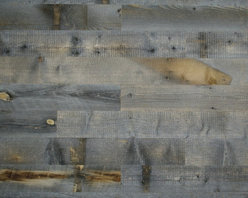 Stikwood - Reclaimed Wood Wall Covering, Box 20 sqft - These solid wood, thinly milled planks have an adhesive backing, making them perfect for wall installations. The weathered wood option looks like it is made for a study or media room, to create a cozy, rustic-inspired space.