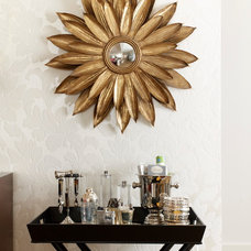 eclectic mirrors by Fun House Furnishings & Design