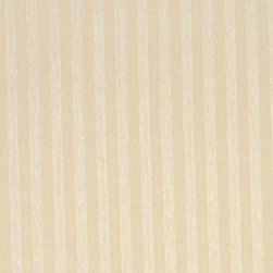 Ivory And Tan Thin Two Toned Striped Upholstery Fabric By The Yard - Naturally colored upholstery fabrics are warm and inviting, which make this an excellent choice for any room! Of course, this fabric is excellent for correlating with other furniture.