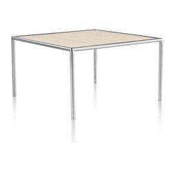 Herman Miller - Herman Miller | Ward Bennett Full Round Table, Square - Design by Ward Bennett.