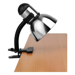 Lite Source - Lite Source LS-153PS/BLK Henrik Clip-On Lamp - Lite Source LS-153PS/BLK Henrik Clip-on Lamp
