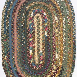 Home Decorators Collection - Hearth Braided Area Rug - Our popular Hearth rugs, from the American Heritage Braided Rug Collection, are comfortable rugs that are specially crafted of designer quilt fabric for an extra warm appeal and cushiony texture. Plus, reversibility gives these floor coverings twice the wearing power.  Heath Area Rugs bring a special style and cozy warmth to your decor. These durable synthetic rugs are crafted of 50% cotton/50% Derclon synthetic fiber. Order now to add a country rug to any area in your home.