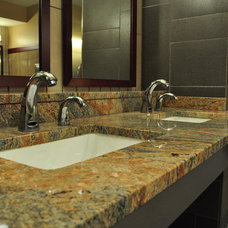 Modern Vanity Tops And Side Splashes by Tennessee Tile and Marble Co., Inc.