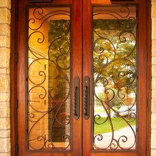 Mediterranean Front Doors by Silverado Custom Door & Window
