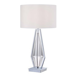 "Kovacs - Kovacs P1606-077 1 Light 30.75"" Height Accent Table Lamp Portables Coll - Single Light 30.75"" Height Accent Table Lamp from the Portables CollectionFeatures:"