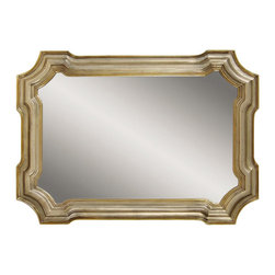 Bassett Mirror Company - Bassett Mirror Old World Angelica Wall Mirror in Silver and Gold - Angelica Wall Mirror in Silver and Gold belongs to Old World Collection by Bassett Mirror Company Bassett Mirror is fluent in this art, showing a terrific contemporary furniture that will satisfy on the one hand fans of home coziness, and on the other hand - seekers of non-standard design solutions also. One of the many strengths of the Bassett Mirror is using high quality materials for perfect embodiment of brilliant design ideas. Mirror (1)
