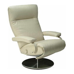 Sumi Recliner By Lafer Recliners - The Sumi recliner from Lafer is perfect for any living room or office room.