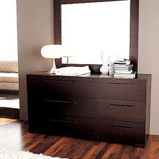modern dressers chests and bedroom armoires Soho Double Dresser By Doimo