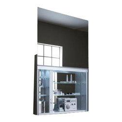 "Robern - Electric 30"" Uplift Medicine Cabinet - Robern UC3027FPL Electric 30"" Uplift Medicine Cabinet w/ Defogger"