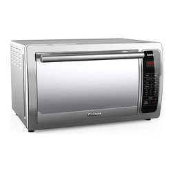 Galanz - Galanz 6-slice Digital Toaster Oven - The Galanz KWS1528AQ-H7 6-slice Toaster Oven is a spacious toaster oven, that toasts, bakes and broils. This oven has two simple-to-use touchpad offers that have easy control over the temperature and broil options.