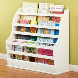 Bin There Done That Floor Book Bin (White) -