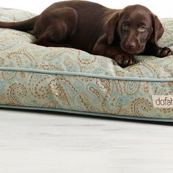 Vista Custom Dog Bed Collection - Guarantee your dog sweet dreams in a decadent Dofähn Dog Bed!