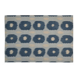 1800-Get-A-Rug - 100% Wool Ikat Design Durie Kilim Hand Woven Oriental Rug Sh17201 - The Flat Weave hand woven rug is a type of area rug created by weaving wool onto a foundation of cotton warps on a loom. The Flat Weave rug offers the same beauty and durability as the classical thick-pile Oriental rugs, but without the telltale thick pile often spotted in other rugs. This gives the Flat weave a thin and flat appearance which resembles the Needlepoint, making them wonderfully ideal choices as accent rugs, wall hangings, or to drape over furniture and staircases.