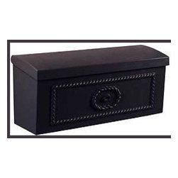 Salsbury Townhouse Mailbox - Horizontal, die-cast aluminum mailbox with a powder coated finish.  Available for $112.23 with free shipping at http://www.mailboxixchange.com