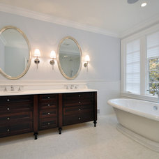 Traditional Bathroom by Anthony James Construction