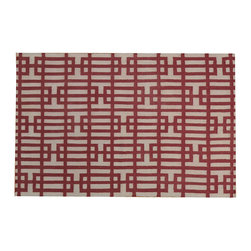 1800-Get-A-Rug - Geometric Design Durie Kilim Hand Woven Flat Weave Oriental Rug Sh18567 - The flat weave hand woven rug is a type of area rug created by weaving wool onto a foundation of cotton warps on a loom. The flat weave rug offers the same beauty and durability as the classical thick-pile Oriental rugs, but without the telltale thick pile often spotted in other rugs. This gives the flat weave a thin and flat appearance which resembles the needlepoint, making them wonderfully ideal choices as accent rugs, wall hangings, or to drape over furniture and staircases.