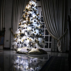 Contemporary Christmas Trees by Anne Maligaya