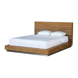 Beam Bed - This simple platform bed should provide enough Zen minimalism to make sure you are honking some big zzzzs from the second your head hits the pillow.