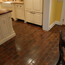 Contemporary Hardwood Flooring by Elmwood Reclaimed Timber Inc.