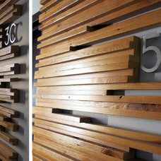 Modern Hall by Modern House Numbers