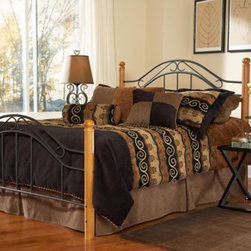 Hillsdale - Hillsdale Winsloh Headboard with Post Kit and Rails - The Winsloh headboard from Hillsdale boasts a simple, yet classic design that is ideal for rooms with lodge or cottage-style decor.