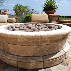 Fire Pits (Mediterranean Style) - Image provided by 'Ancient Surfaces'