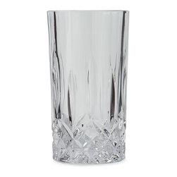 Godinger - Eight Oxford Highball Glasses - CLEAR - GodingerEight Oxford Highball Glasses