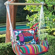 tropical outdoor swingsets Fish Swing and Tote