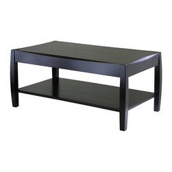 Winsome - Winsome Wood Cleo Coffee Table in Dark Espresso - Winsome - Coffee Tables - 92041