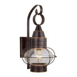 "Vaxcel Chatham 10"" Outdoor Wall Light OW2191BBZ - For over 20 years, Vaxcel International has been a premier supplier of residential lighting products. Our product offering is composed of more than 2000 items, ranging from builder-ready fixtures and ceiling fans to designer chandeliers and lamps, in the latest styles and finishes. We are known in the industry for offering a full selection of products at competitive prices. Everyday, we at Vaxcel work hard to be the best business partner to our customers, by providing the best service, quality, and innovation in lighting."