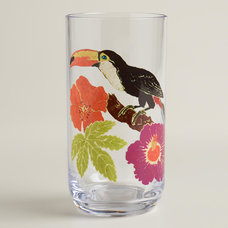 Tropical Everyday Glasses by Cost Plus World Market