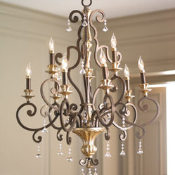 "Nine-Light ""Heirloom"" Chandelier"