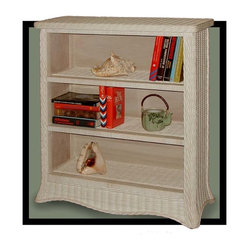 Roma 3-Tier Wicker Bookcase