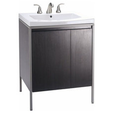 Contemporary Bathroom Vanities And Sink Consoles by PlumbingDepot