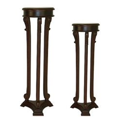 Chopin Plant Stands - 2 Piece Set