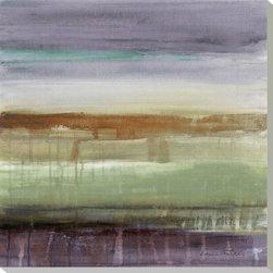 Artcom - Purple Rain II by Lanie Loreth - Purple Rain II by Lanie Loreth is a Stretched Canvas Print.