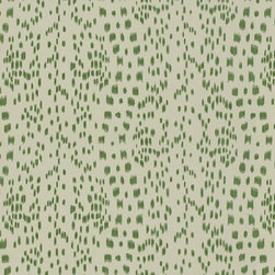 Brunschwig & Fils - Les Touches, Green - Les Touches has been a classic for decades by Brunschwig & Fils. Makes wonderful drapes, pillows, or use it for light upholstery.
