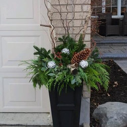 Fall and Winter Planters -