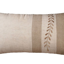 Rizzy Home - Natural and Tan Decorative Accent Pillows (Set of 2) - T02771 - Set of 2 Pillows.