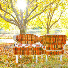 eclectic chairs by Vintage Renewal