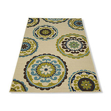contemporary outdoor rugs by Grandin Road