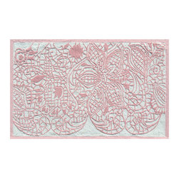 The Rug Market - Lacy area rug -