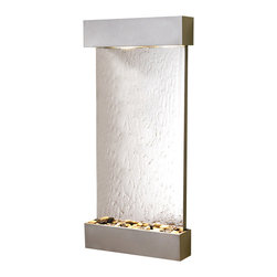 Adagio - Whispering Creek Wall Fountain - The perfect indoor fountain for home or office.