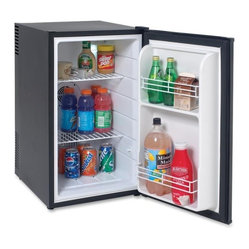 2.5 Cubic-Foot Superconductor Fridge Black